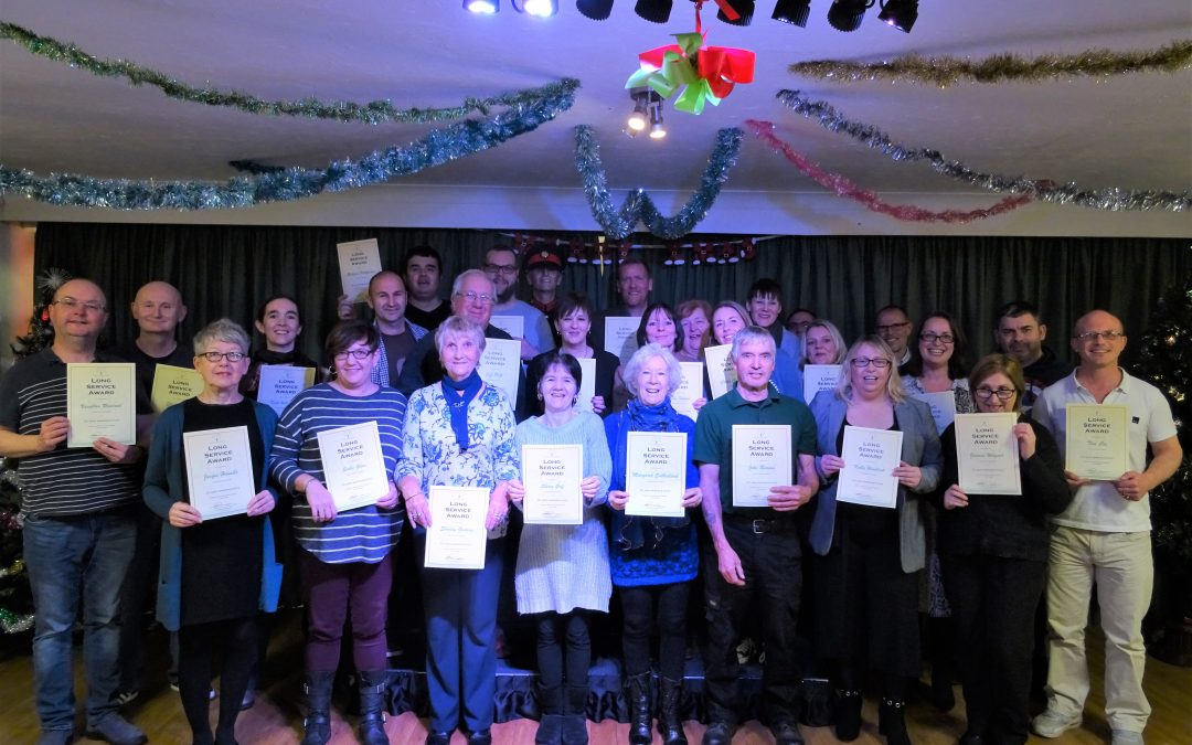 Acorn Village Staff Long Service Award