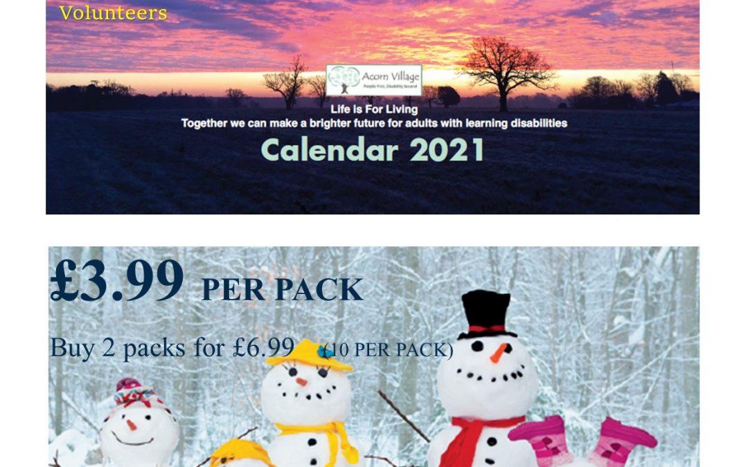 Acorn Village Christmas Cards & Calendars 🎄